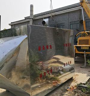 15吨燃气锅炉余热回收安装现场