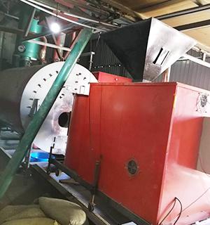 生物质取暖锅炉施工现场 (2)