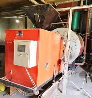 生物质取暖锅炉施工现场