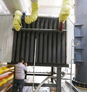 烟气节能器(余热回收装置)